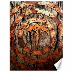 Queensryche Heavy Metal Hard Rock Bands Logo On Wood Canvas 36  X 48