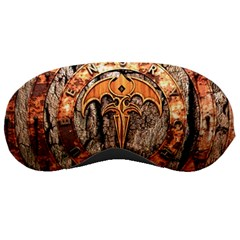Queensryche Heavy Metal Hard Rock Bands Logo On Wood Sleeping Masks