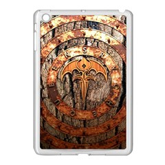 Queensryche Heavy Metal Hard Rock Bands Logo On Wood Apple Ipad Mini Case (white) by Samandel