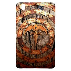 Queensryche Heavy Metal Hard Rock Bands Logo On Wood Samsung Galaxy Tab Pro 8 4 Hardshell Case