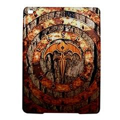Queensryche Heavy Metal Hard Rock Bands Logo On Wood Ipad Air 2 Hardshell Cases