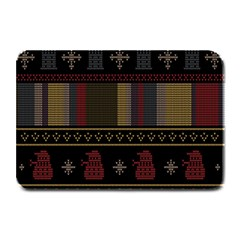 Tardis Doctor Who Ugly Holiday Plate Mats by Samandel