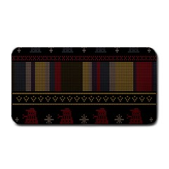 Tardis Doctor Who Ugly Holiday Medium Bar Mats by Samandel