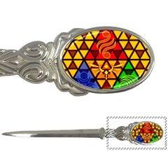 The Triforce Stained Glass Letter Openers by Samandel