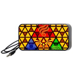 The Triforce Stained Glass Portable Speaker