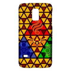 The Triforce Stained Glass Galaxy S5 Mini