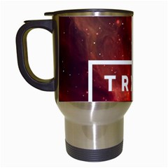 Trxye Galaxy Nebula Travel Mugs (white)