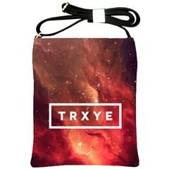 Trxye Galaxy Nebula Shoulder Sling Bags