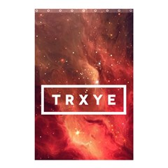 Trxye Galaxy Nebula Shower Curtain 48  X 72  (small)  by Samandel