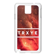 Trxye Galaxy Nebula Samsung Galaxy Note 3 N9005 Case (white)