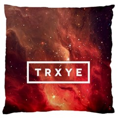 Trxye Galaxy Nebula Standard Flano Cushion Case (one Side)