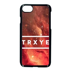 Trxye Galaxy Nebula Apple Iphone 7 Seamless Case (black)