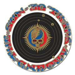 The Grateful Dead Magnet 5  (round)