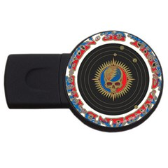 The Grateful Dead Usb Flash Drive Round (4 Gb)