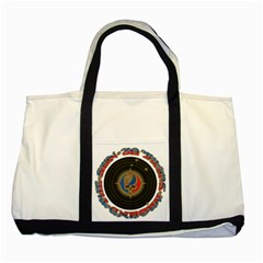 The Grateful Dead Two Tone Tote Bag