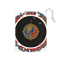 The Grateful Dead Drawstring Pouches (medium)