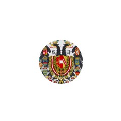 Imperial Coat Of Arms Of Austria Hungary  1  Mini Buttons