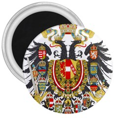 Imperial Coat Of Arms Of Austria Hungary  3  Magnets