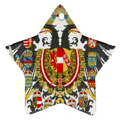 Imperial Coat Of Arms Of Austria Hungary  Ornament (star)