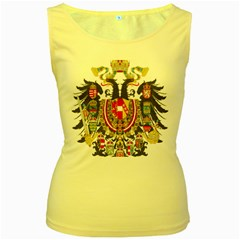 Imperial Coat Of Arms Of Austria Hungary  Women s Yellow Tank Top