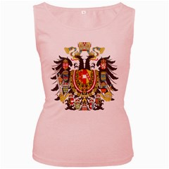Imperial Coat Of Arms Of Austria Hungary  Women s Pink Tank Top