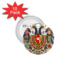 Imperial Coat Of Arms Of Austria Hungary  1 75  Buttons (10 Pack)
