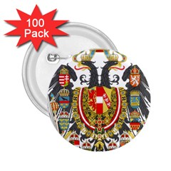 Imperial Coat Of Arms Of Austria Hungary  2 25  Buttons (100 Pack)