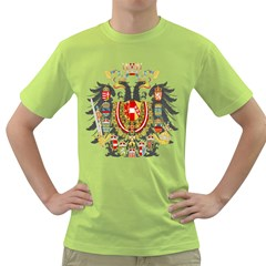 Imperial Coat Of Arms Of Austria Hungary  Green T Shirt