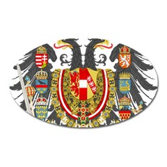 Imperial Coat Of Arms Of Austria Hungary  Oval Magnet