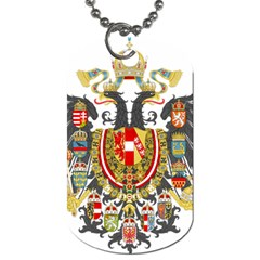Imperial Coat Of Arms Of Austria Hungary  Dog Tag (one Side)