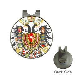 Imperial Coat Of Arms Of Austria Hungary  Hat Clips With Golf Markers