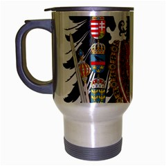 Imperial Coat Of Arms Of Austria Hungary  Travel Mug (silver Gray)