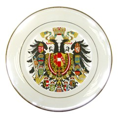 Imperial Coat Of Arms Of Austria Hungary  Porcelain Plates