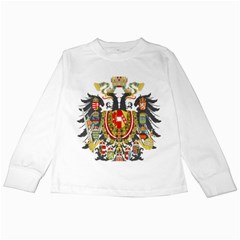 Imperial Coat Of Arms Of Austria Hungary  Kids Long Sleeve T Shirts