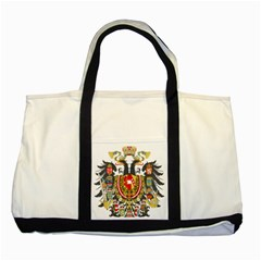 Imperial Coat Of Arms Of Austria Hungary  Two Tone Tote Bag