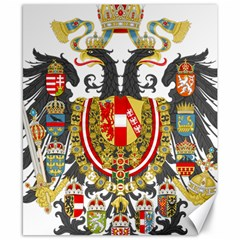 Imperial Coat Of Arms Of Austria Hungary  Canvas 8  X 10