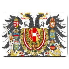 Imperial Coat Of Arms Of Austria Hungary  Large Doormat