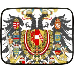 Imperial Coat Of Arms Of Austria Hungary  Fleece Blanket (mini)