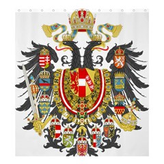 Imperial Coat Of Arms Of Austria Hungary  Shower Curtain 66  X 72  (large)