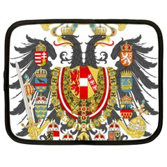 Imperial Coat Of Arms Of Austria Hungary  Netbook Case (xl)