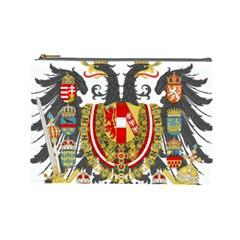 Imperial Coat Of Arms Of Austria Hungary  Cosmetic Bag (large)