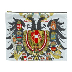 Imperial Coat Of Arms Of Austria Hungary  Cosmetic Bag (xl)