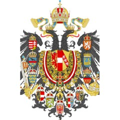 Imperial Coat Of Arms Of Austria Hungary  5 5  X 8 5  Notebooks