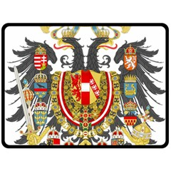 Imperial Coat Of Arms Of Austria Hungary  Fleece Blanket (large)