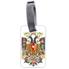Imperial Coat Of Arms Of Austria Hungary  Luggage Tags (one Side)