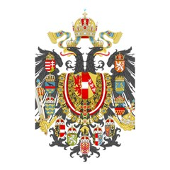 Imperial Coat Of Arms Of Austria Hungary  Shower Curtain 48  X 72  (small)