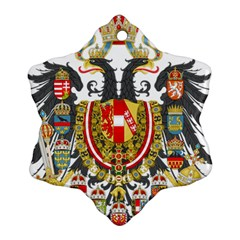 Imperial Coat Of Arms Of Austria Hungary  Ornament (snowflake)