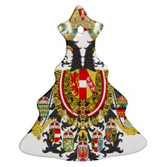 Imperial Coat Of Arms Of Austria Hungary  Christmas Tree Ornament (two Sides)