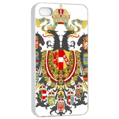 Imperial Coat Of Arms Of Austria Hungary  Apple Iphone 4/4s Seamless Case (white)