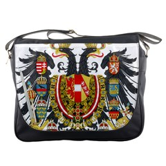 Imperial Coat Of Arms Of Austria Hungary  Messenger Bags
